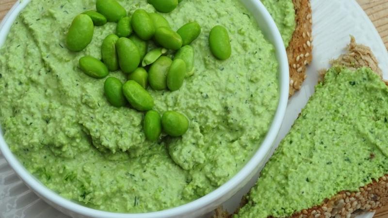 Edamame + Spinach Hummus(Ve)