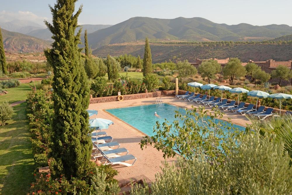 3. Swimming pool morning